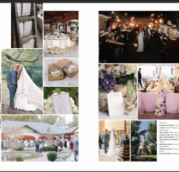 STL Bride Magazine-Wedding Planning and Design// 2 page feature!