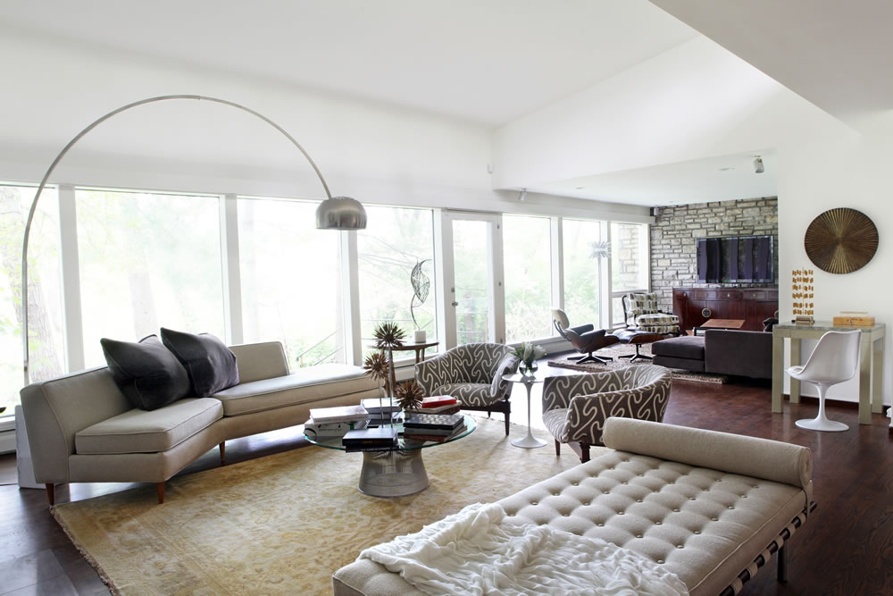 Mid century modern interior design gallery stlcure for Interior design group