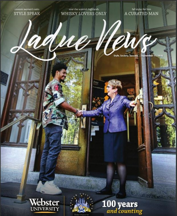 Ladue News Cover September 2015