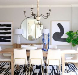 Feminine and Fierce on Forsyth // Interior Design