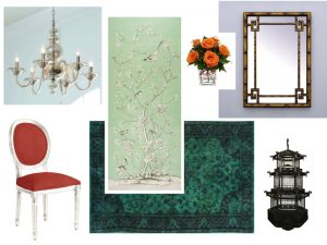 Chintz collage