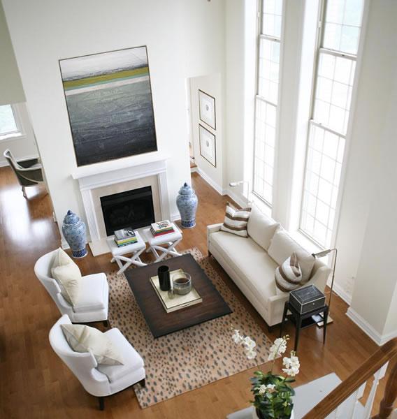 Beau Transitional Interior Design