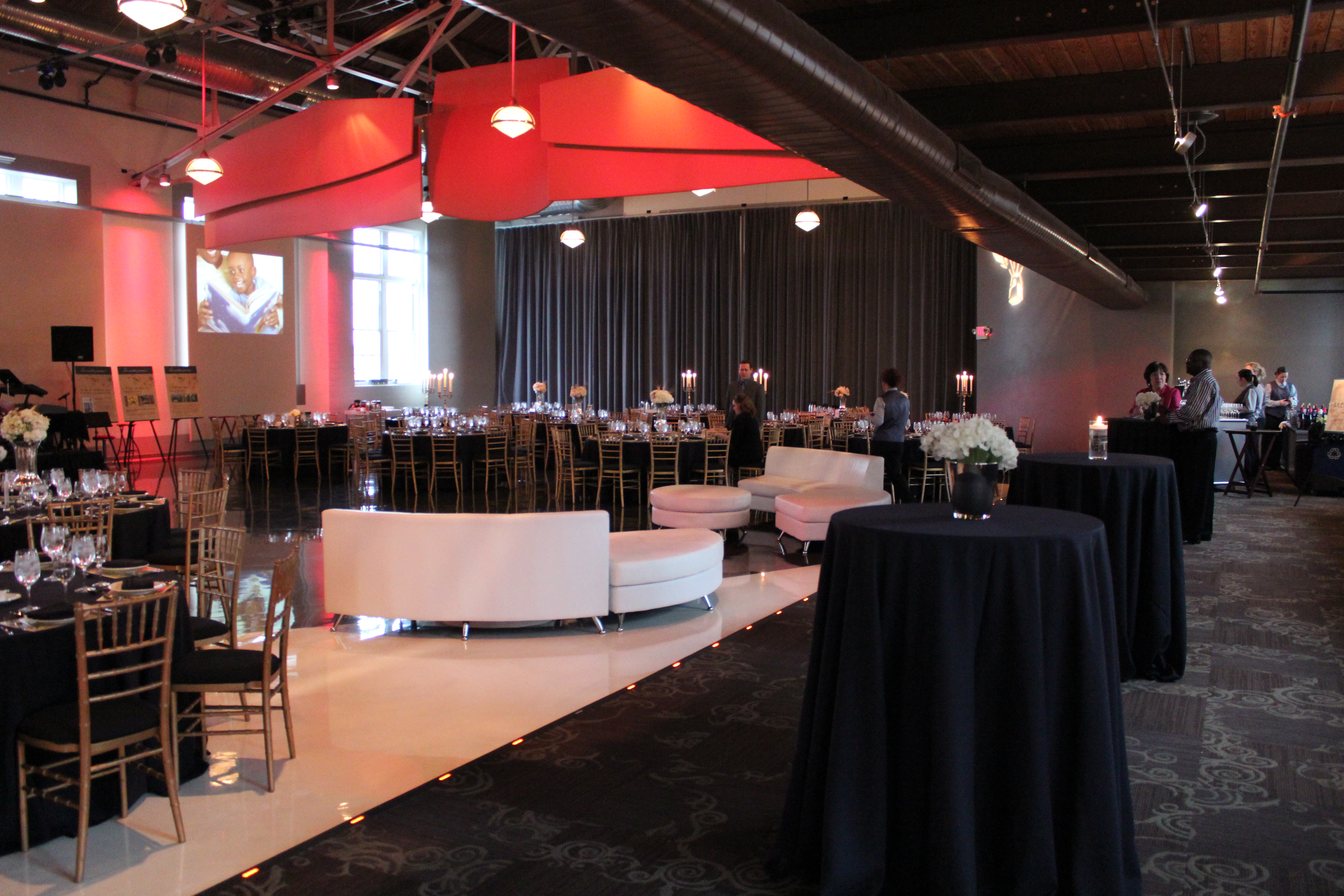 interior design team gala event design by cure design groupcure design 1904
