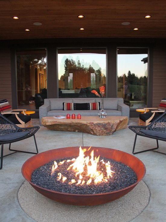 Inspire by Fire outdoor lounge space