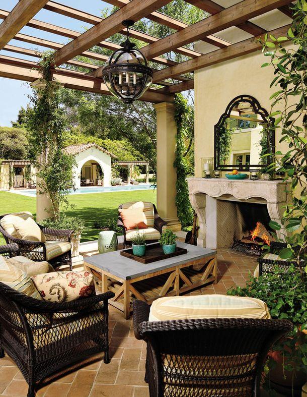 Mediteranean Home outdoor space