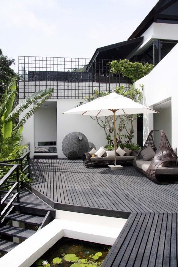 Small space big design inspired outdoor space