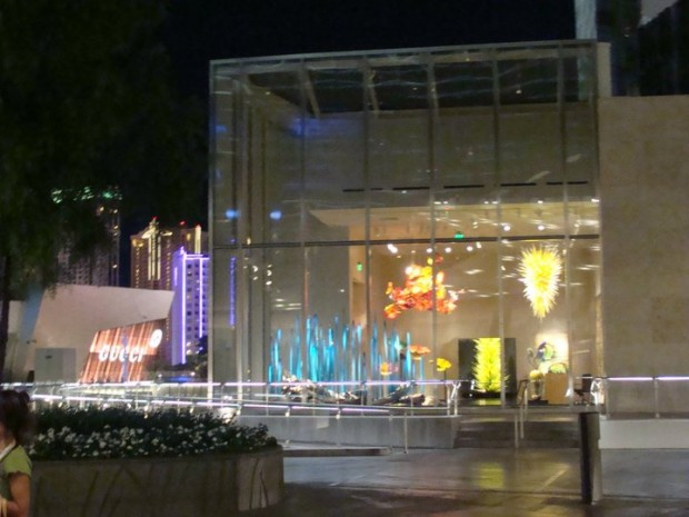 CityCenter Chihuly Showoom
