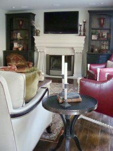 Living Room Custom built ins