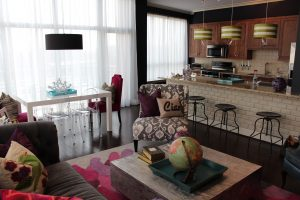 CURE-Vibrant Loft Living-Dining