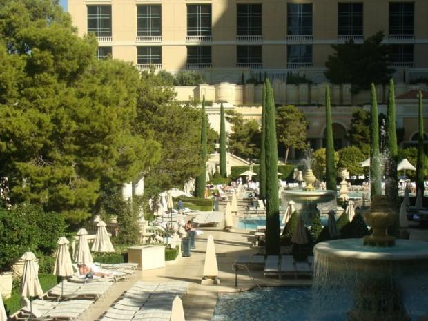 Pool at the Bellagio