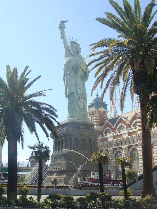 Pretty lady Liberty