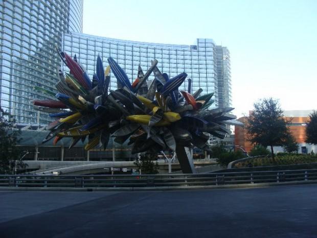 Surfboard sculpture