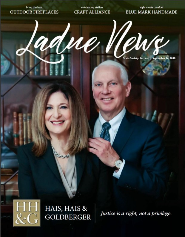 Ladue News Feature 9-2018 Cover